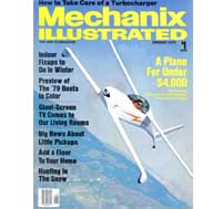 Mechnix Illustrated - January 1979!