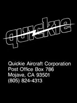 Quickie Aircraft Corporation Publications