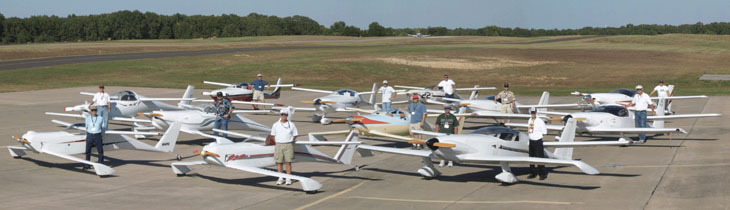 2004 Tandem Wing Fly-in Group Shot