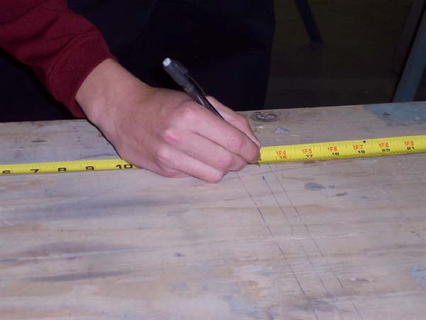 Measuring the Jigging Table